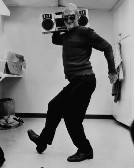 Johnny Depp stole his Walkman.