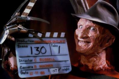 """Freddy calls, """"Cut!"""""""
