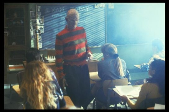 And I thought I was a bad teacher.... Freddy schools us on how to take one of the scariest villains to ever hitthe screen and make him not scary.