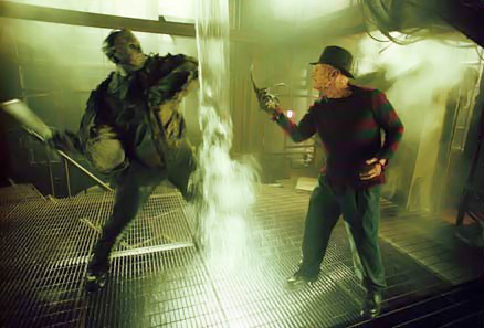 Freddy discovers Jason's deepest fear is...water, thereby ignoring all the times Jason was in water without issue during his series of movies.