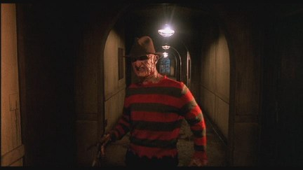 One of the few creepy Freddy scenes in The Dream Child.