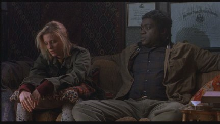 Lezlie Deane as Tracy and Yaphet Kotto as Doc.