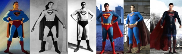 Supermen: Fleischer/Famous, Kirk Alyn, George Reeves, Christopher Reeve, Brandon Routh, Henry Cavill