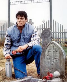 The gravestone should read: Superman Franchise, 1978-1987.