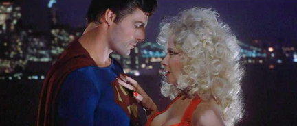 Now he's really a man of steel! Get it?