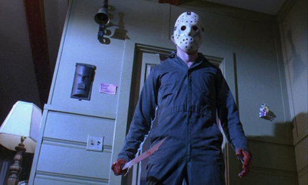 The ambulance driver is obviously a Halloween fan, using the same kind of coveralls that Michael Myers wears.