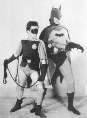 """I'm Batman."" ""And I'm Robin."" ""Shut up, or I'll shoot you."""