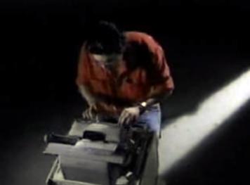 Stephen King typing Primetime Aug 23 1990
